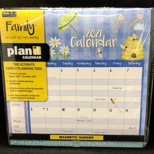 Family Plan-It Pocket Wall Calendar